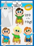 The Halflings and the Ring Clip Art