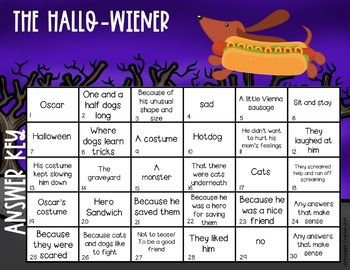 The Hallo-Wiener Comprehension Activities