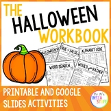 THE HALLOWEEN BOOKLET // PRINTABLES WITH ANSWERS //