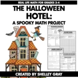 The Halloween Hotel: Halloween-Themed Real Life Math Project | Includes Digital
