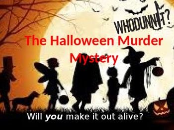 The Halloween Murder Mystery – Creative Writing Story
