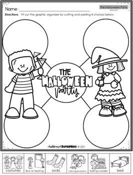 The Halloween Party Adapted Book