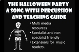The Halloween Party. Song and percussion parts. Readers/ n