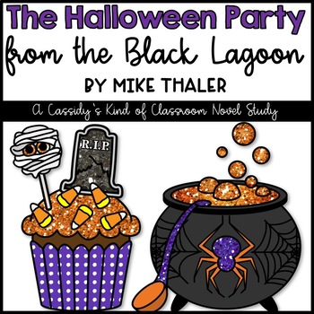 The Halloween Party from the Black Lagoon Novel Study and Activity Set