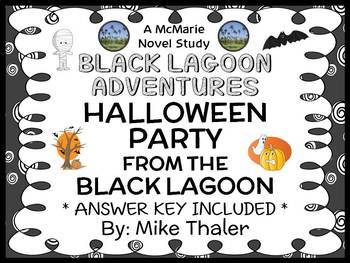 The Halloween Party from the Black Lagoon (Thaler) Novel Study / Comprehension