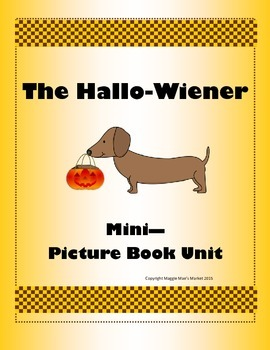 The Hallowiener Mini Picture Book Unit