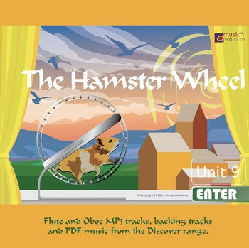 The Hamster Wheel Flute And Oboe MP3 And PDF Unit 9.