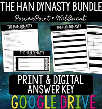 The Han Dynasty BUNDLE - PowerPoint + WebQuest