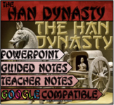 The Han Dynasty - PowerPoint, Warm-Up & Exit Ticket, Guide