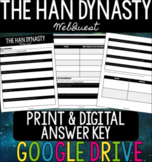 The Han Dynasty WebQuest + Extension Activity