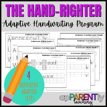 The Hand-Righter Handwriting Program - making writing easy and fun!
