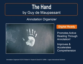 """""""THE HAND"""" by GUY DE MAUPASSANT : Annotation Organizer"""