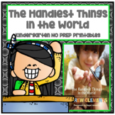 The Handiest Things in the World Kindergarten NO PREP Jour