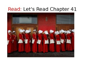 The Handmaid's Tale (21) Chapters 41 and 42