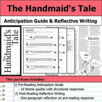 The Handmaid's Tale - Anticipation Guide & Reflection