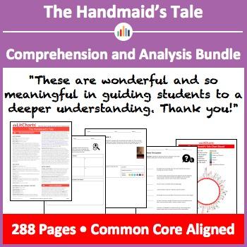 The Handmaid's Tale – Comprehension and Analysis Bundle