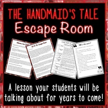 The Handmaid's Tale Escape Room