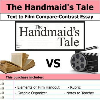 The Handmaid's Tale - Text to Film Essay Bundle