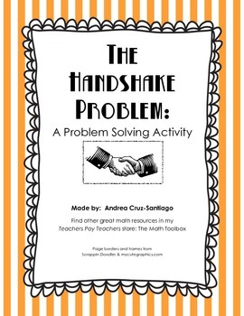 The Handshake Problem Practice With Problem Solving Strategies