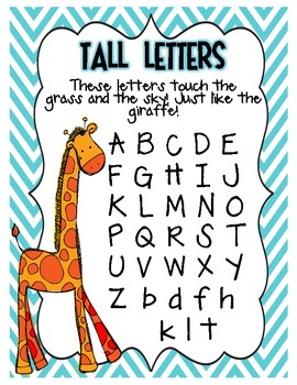 The Handwriting Zoo: Letter Writing Practice