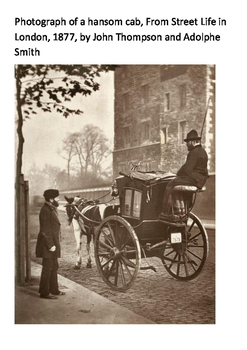 The Hansom Cab Word Search