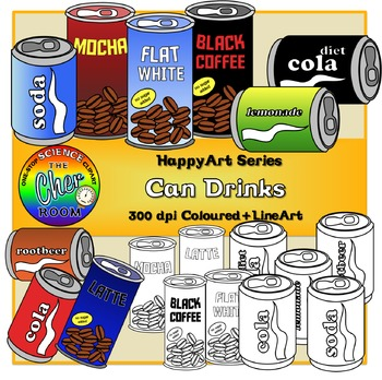Canned Drinks (The HappyArt Series)