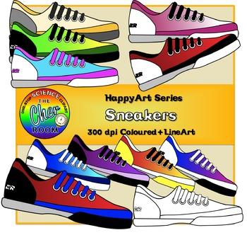 Sneakers (Shoes) (The HappyArt Series)
