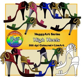 High Heels (The HappyArt Series)