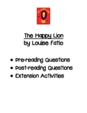 The Happy Lion by Louise Fatio Comprehension Questions Ext