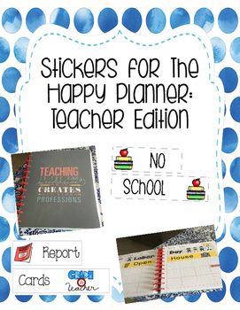 The Happy Planner Labels/Stickers
