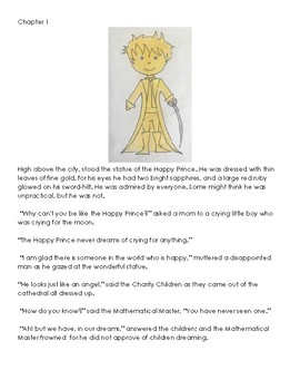 The Happy Prince - Adapted Book