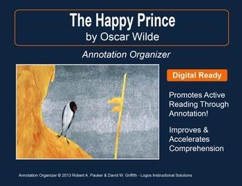 """The Happy Prince"" by Oscar Wilde: Annotation Organizer"