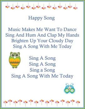 The happy song sing along with video and lyrics by kellys music books the happy song sing along with video and lyrics stopboris Image collections