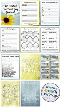 The Positive Teacher's Joy Journal Printables