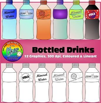 Bottled Drinks Clipart