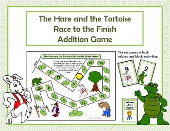 The Hare and the Tortoise Addition Race to the Finish Game