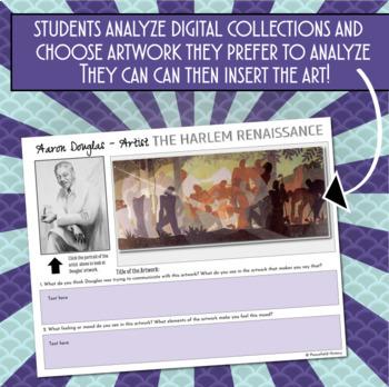 The Harlem Renaissance 1920s Digital Investigation of the Artwork and Culture