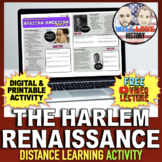 The Harlem Renaissance: African American Arts Activity