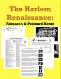 The Harlem Renaissance Bundle: Research Tools and Postcard Home Assignment