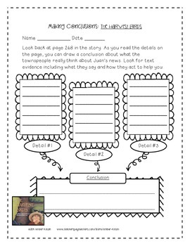 The Harvest Birds Activities 3rd Grade Journeys: Unit 2, Lesson 8