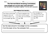 Journeys The Harvest Birds: Drawing Conclusions