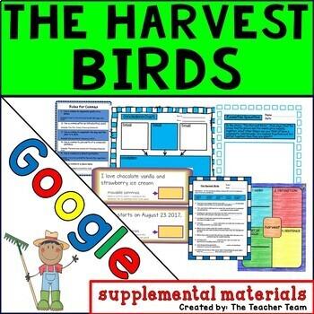 The Harvest Birds Journeys 3rd Grade Unit 2 Lesson 8 Google Digital Resource