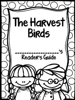 The Harvest Birds Journey's Supplemental Activities -- Third Grade Lesson 8