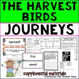 The Harvest Birds Journeys Third Grade Unit 2 Lesson 8 Activities & Printables