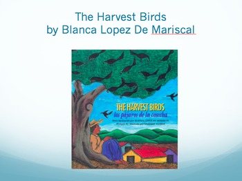 The Harvest Birds Vocabulary, Journeys Lesson 8