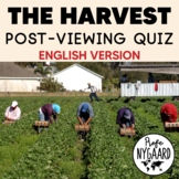 The Harvest: Post-viewing quiz (English version)