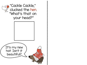 The Hat...Adapted Book, Literacy & Math Activities