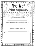 The Hat Animal Adjectives