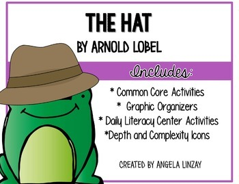 The Hat (Frog and Toad): Aligning 1st Grade Houghton Mifflin to the Common  Core