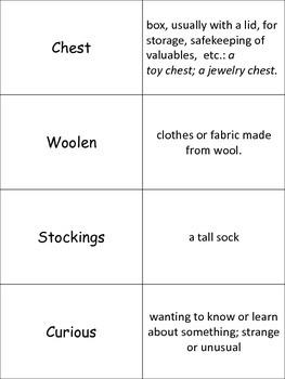 "Jan Brett's ""The Hat"" Vocabulary and Word Work"